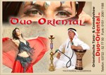 Comedy und Tanzshows mit Duo Oriental, Download-Werbeplakate